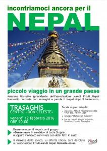 Serata sul Nepal - Trasaghis 12/02/16